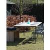 """""""Brandal Garten"""" Tisch aus Bauholz mit Untergestell aus Stahl"""