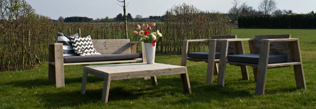 hausvik garten gartenset bauholz pure wood design. Black Bedroom Furniture Sets. Home Design Ideas
