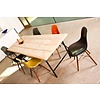 """""""Tonsberg"""" Tisch aus Bauholz mit runden Beinen aus Stahl"""
