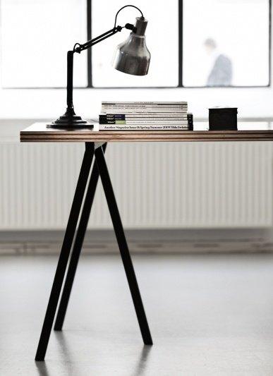 hay loop stand tisch pure wood design. Black Bedroom Furniture Sets. Home Design Ideas