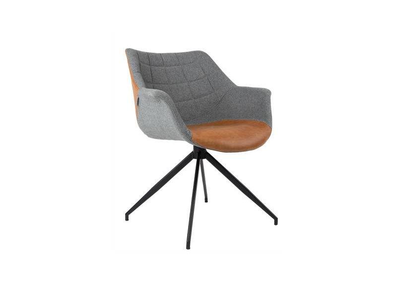 Zuiver Doulton Chair - vintage Braun