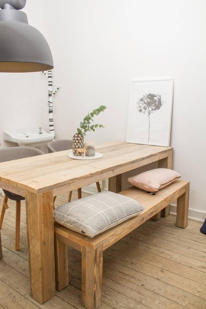 Hamar bauholz tisch pure wood design for Tisch design wood
