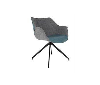 Zuiver Doulton Chair - Blau