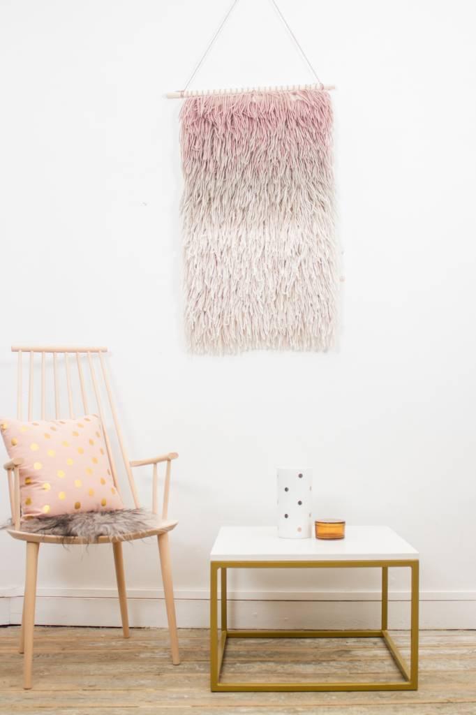 Goldmark couchtisch marmor pure wood design for Couchtisch untergestell