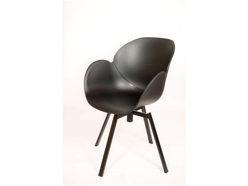 PURE BLEND S04 - Stuhl mit Armlehnen - Drehgestell - PURE Wood Design