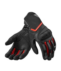 REV'IT! Striker 3 Motorhandschoenen Zwart-Rood
