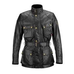Belstaff Classic Tourist Trophy motorcycle jacket Black
