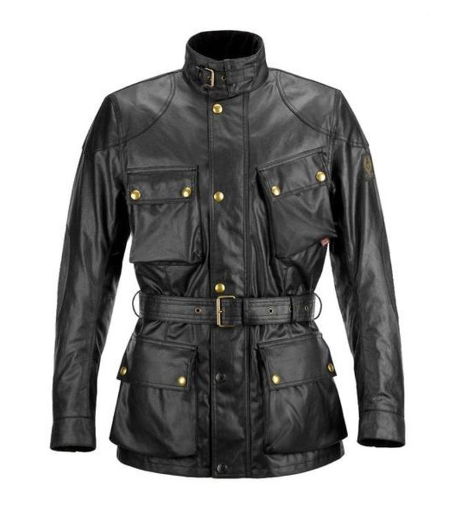 Belstaff Classic Tourist Trophy motorcycle jacket Black