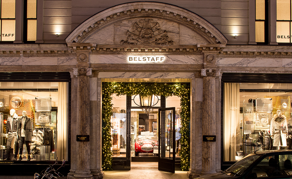 Belstaff Flag Store London