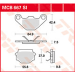 TRW MCB667SI Brake Pads