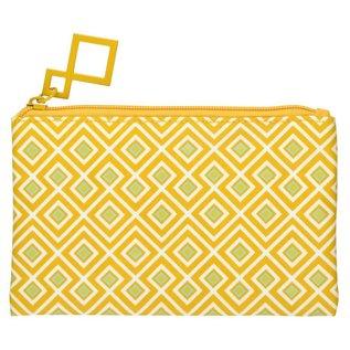 La Chaise Longue Make Up Tasje Eclektic Mix saffraan geel