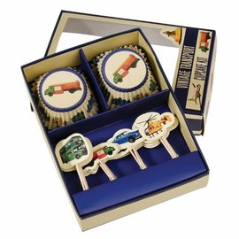 Dotcomgiftshop Cupcake Kit Vintage Transport