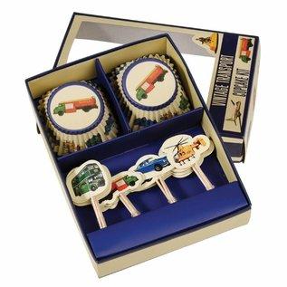 Dotcomgiftshop Cupcake Kit Vintage Transport