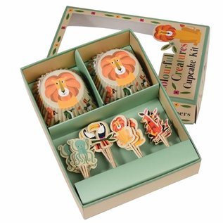 Dotcomgiftshop Cupcake Kit Colourful Creatures