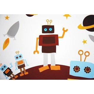 Blafre Tinnen retro koffertje Robot in Space