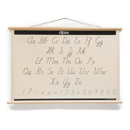 Nieuweschoolplaten Schoolplaat Alfabet ABC / Rekentafels