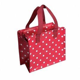 Dotcomgiftshop Kindertasje Polkadot Rood met witte stippen