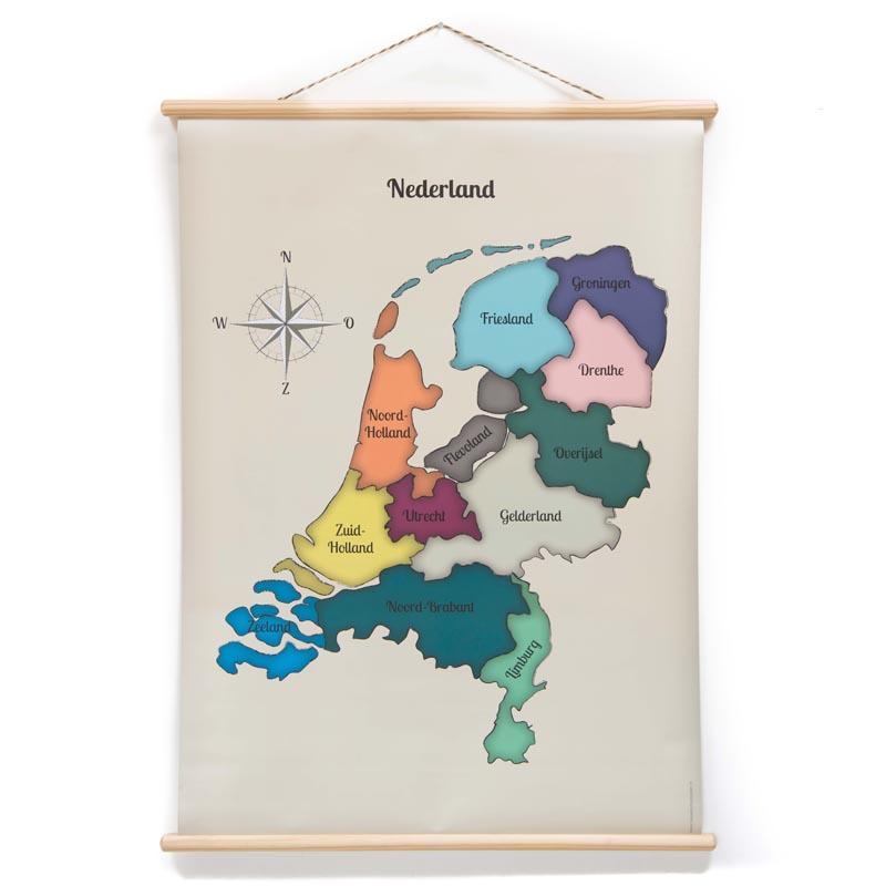 Schoolplaat Nederland