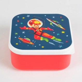 Sass & Belle Lunch trommel Retro Space