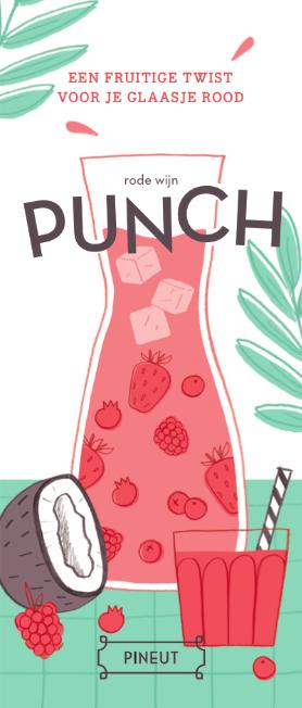 Punch rode wijn