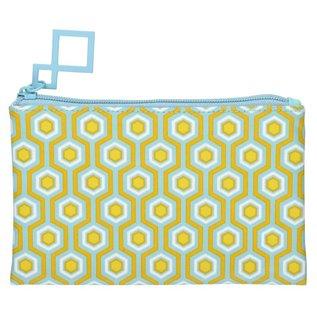 La Chaise Longue Make Up Tasje Eclektic Mix saffraan geel - Copy