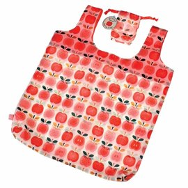 Dotcomgiftshop Opvouwbare tas / shopper Retro Appel