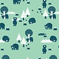 BORA illustraties Bora behang kinderkamer - Beren (Bears)