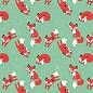 BORA illustraties Bora behang kinderkamer - Vosjes (Foxes)