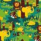 BORA illustraties Bora behang kinderkamer - Jungle