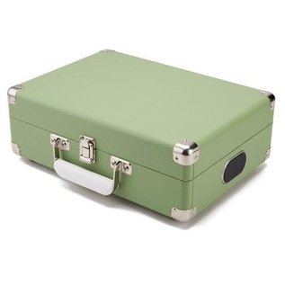 GPO GPO Koffermodel Platenspeler groen