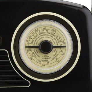 GPO GPO Fifties Rydell DAB+ Radio zwart