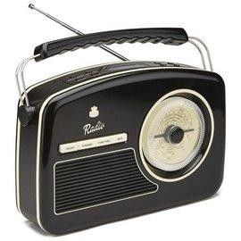 GPO Fifties Rydell DAB+ Radio zwart