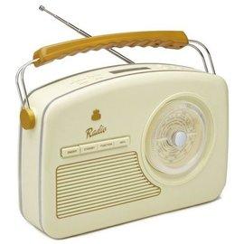 GPO Fifties Rydell DAB+ Radio creme