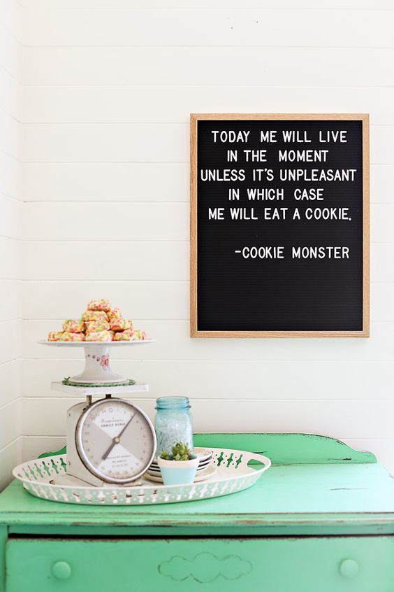 Letterbord inspiratie