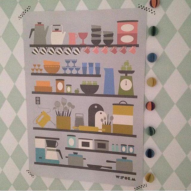 W:form Poster keuken tape