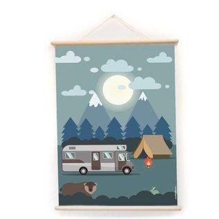 Nieuweschoolplaten Schoolplaat Auto / Camping