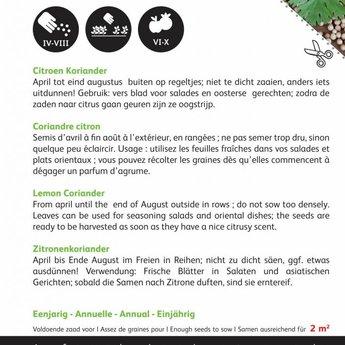 Ciroenkoriander kruidenzaden