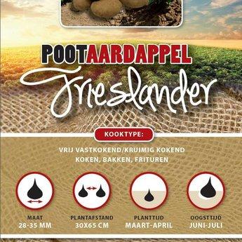 1 kilo Frieslander pootaardappel zeer vroeg