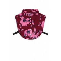 Flower Shirt Collar