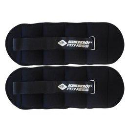 Schildkroet-Fitness Fitness enkel- en polsgewichten 2x2 kg