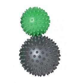 Schildkroet-Fitness Massageballen 1 zacht en 1 hard