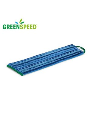 Scrubmop Velcro Blauw, extra schrobeffect