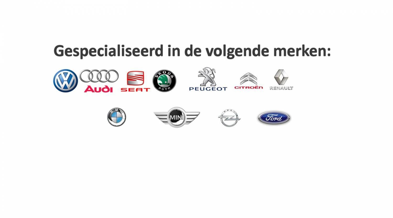 Gespecialiseerd in de volgende merken