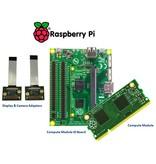 Raspberry Pi Computer Module Kit, 4 GB of on-board embedded Multi-Media Controller