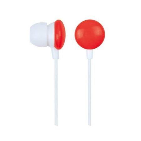 "Gembird Stereo oortelefoon in-ears ""Rode Smarties"""