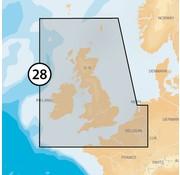 Navionics Engeland, Ierland, België en Holland