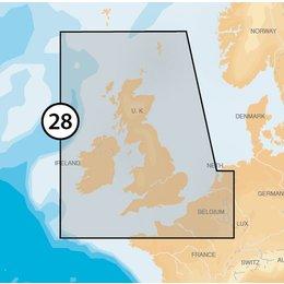 Navionics MSD/28XG UK,Ireland & Holland
