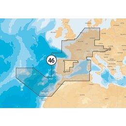 Navionics MSD/46XG France-Iberia-NL- Inlnd EU