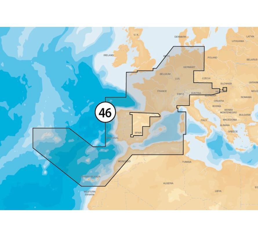 Frankrijk- Spanje-Nederland en binnenland EU-MSD/46XG