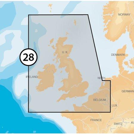 Navionics Engeland en Ierland MSD/28P+